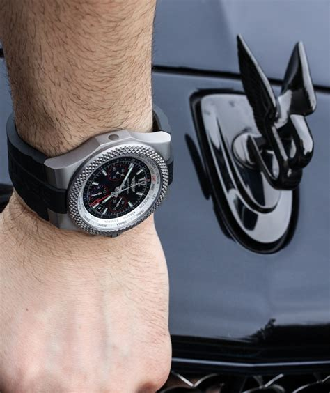 breitling bentley on wrist car review bentley mulsanne speed breitling for