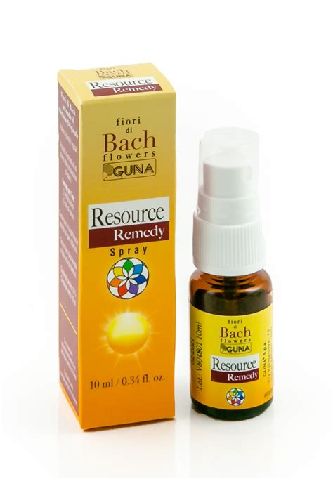 fiori di bach resource remedy guna resource remedy spray 10 ml guna