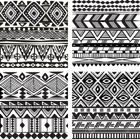 tattoo pattern printer african patterns black and white seamless google search