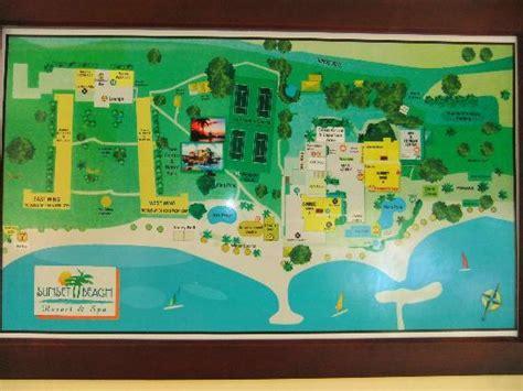 sunset resort jamaica map map of the resort picture of sunset resort spa