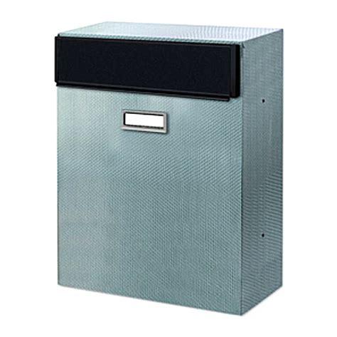 cassetta postale inox cassetta postale alubox magnum inox attacco a recinzione