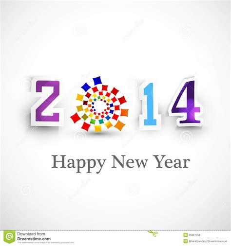 happy new year creative 2014 celebration backgroun royalty