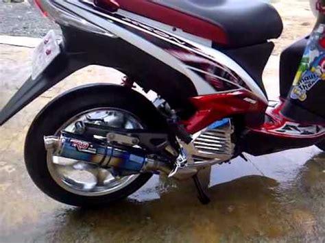 Knalpot Racing Yamaha Xeon Akrapovic Gt xeon aka kura kura emas knalpot r9 new mugello