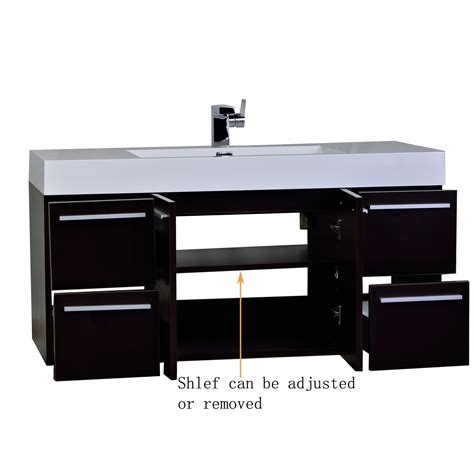 47 bathroom vanity 47 inch wall mount contemporary bathroom vanity in