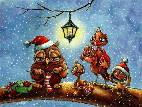 images of christmas owls 96 best christmas owls images on pinterest christmas