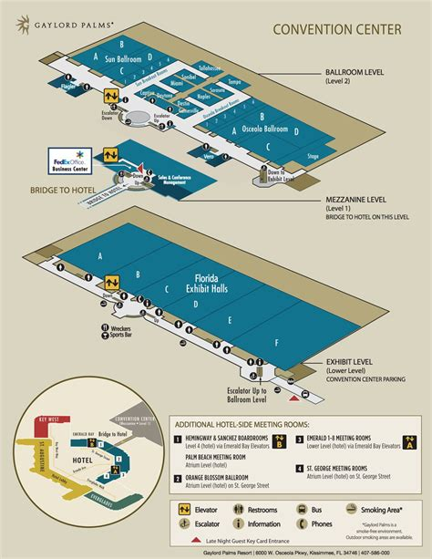layout of opryland hotel convention center layout gaylord palms resort