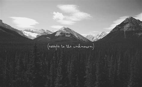 Black And White Landscape Photography Quotes Black And White Clouds Landscape Mountains Quote