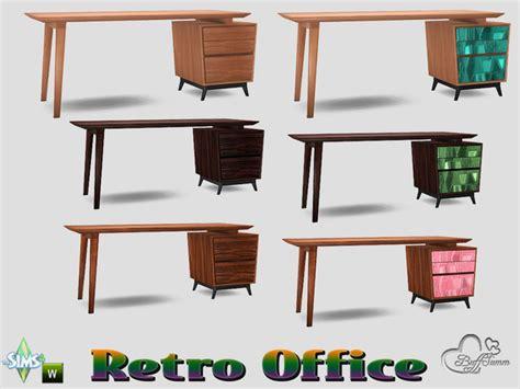 retro office desks buffsumm s retro office desk right sided