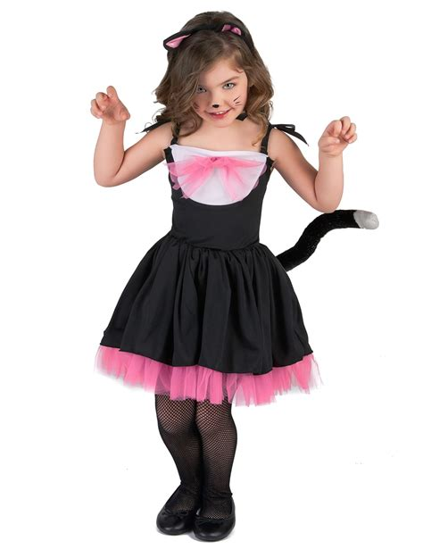 Cat Black Pink black and pink cat costume for vegaoo