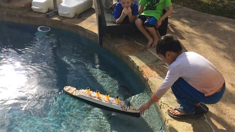 rc titanic ship toy by nqd youtube - Titanic Toy Boat Videos