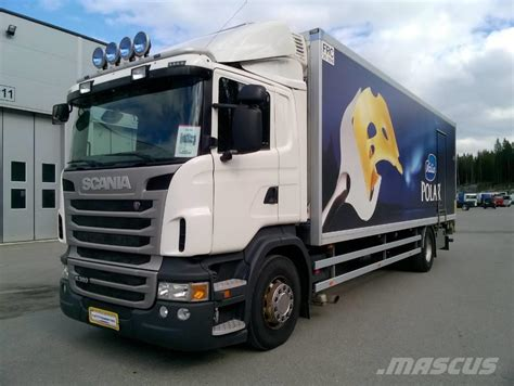 used scania r360 4x2 reefer trucks year 2010 price