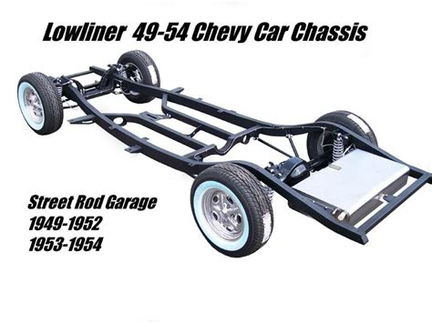 Auto Rahmen by Srg Lowliner 1949 1954 Chevrolet Car Frames Chassis
