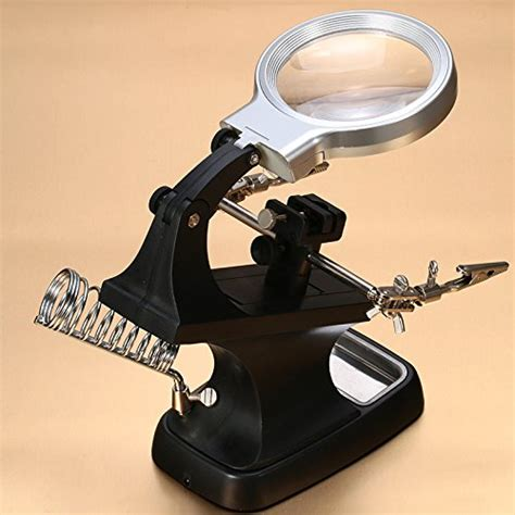 station lighted horsebiz led helping desktop magnifier station 3x 4 5x usb lighted third magnifying