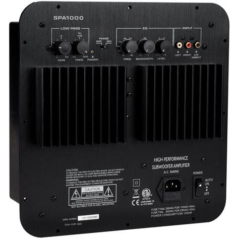 dayton audio spa1000 1000w subwoofer plate lifier