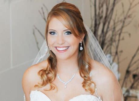 Brautfrisuren Mittellanges Haar Halb Offen by Halb Hochgesteckte Brautfrisur