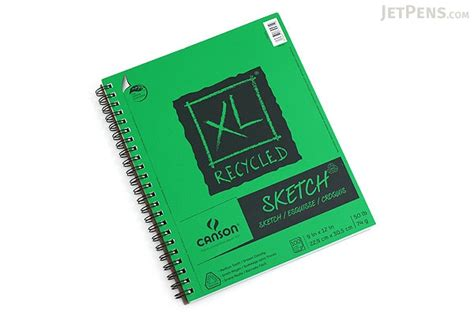 xl sketchbook canson xl recycled sketch pad 9 quot x 12 quot jetpens