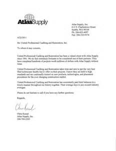 Certification Letter For Supplier certification and recommendation letter from