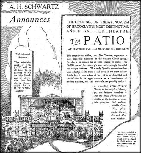 Flatbush Patio Llc by Patio Theatre In Ny Cinema Treasures