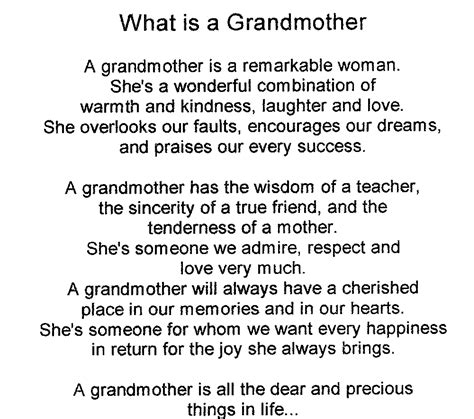 Birthday Quotes For Grandparents Poem For A Grandmother On Her Birthday Google Search