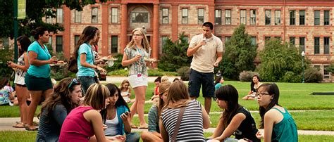 regis college current students summertime in the quad