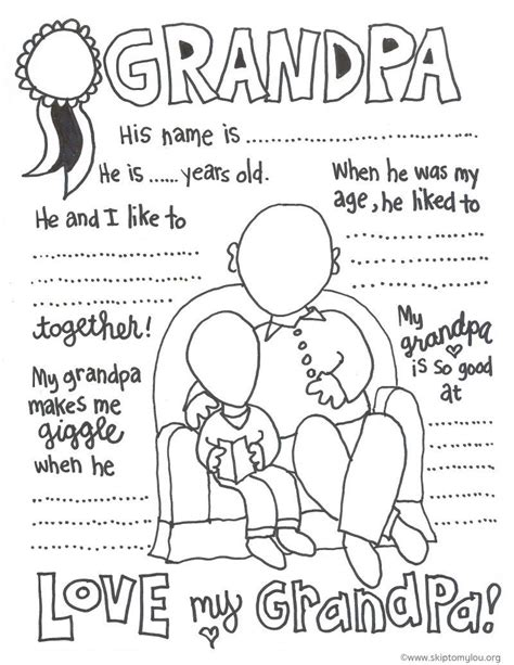 happy birthday coloring pages for grandparents grandparent coloring pages for grandparents day