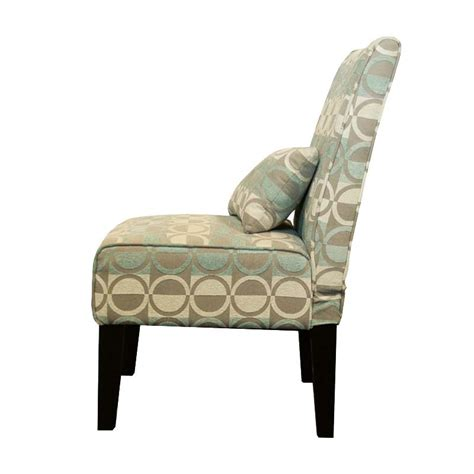 Turquoise Accent Chair Object Moved