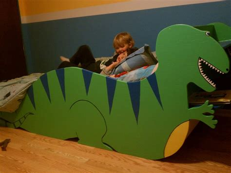 dinosaur bed big boy dino bed by woodtinner lumberjocks com