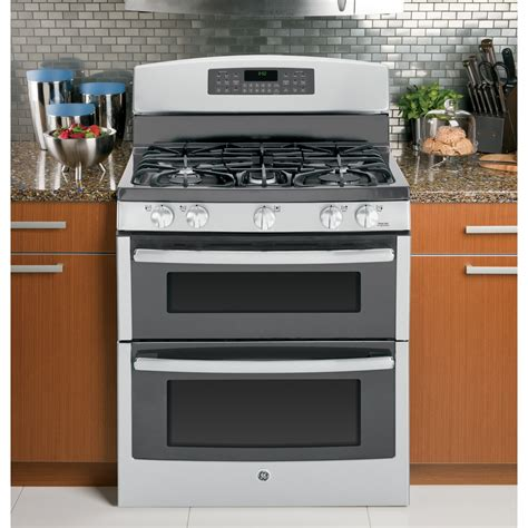 Oven Gas Standing jgb850sefss ge 30 quot free standing gas oven range stainless steel
