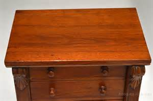 walnut wellington chest of drawers antiques atlas