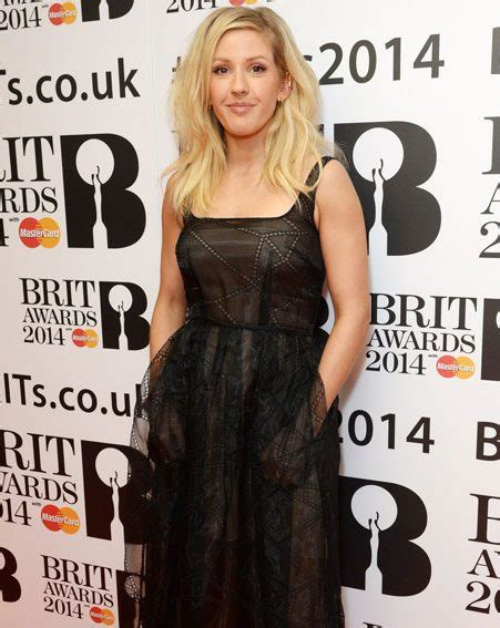 Brit Awards 2014 Katy Perry Reveals Ellie Goulding Is | brit awards 2014 james corden unveils this year s statue