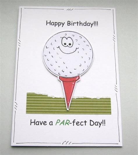 Printable Birthday Cards Golf Theme | 141 best images about sport themed cards on pinterest