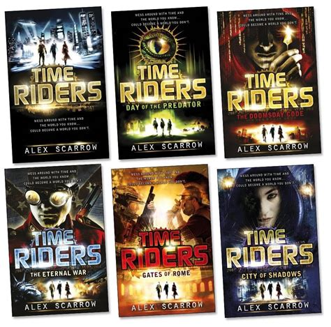 with the the s riders books timeriders series so far books 1 to 6 novels by alex