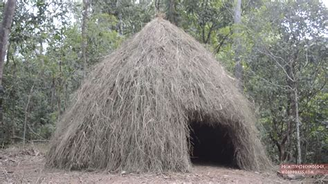 Grass Hut How To Build A Grass Hut Boing Boing