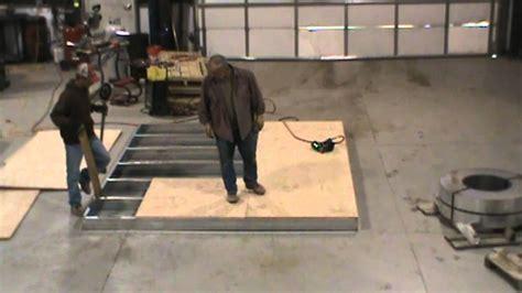 tuff shed galvanized steel foundation