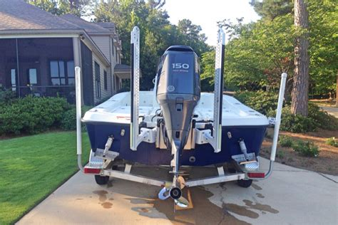 fishing boat power pole power pole decision the hull truth boating and fishing