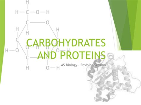 carbohydrates a level carbohydrates and proteins as aqa revision by rob b112