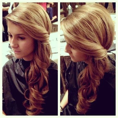 homecoming hairstyles off to the side 15 coiffures sur le c 244 t 233 tr 232 s modernes et tendance