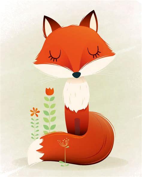 imagenes infantiles de zorros las 25 mejores ideas sobre ilustraciones de animales en