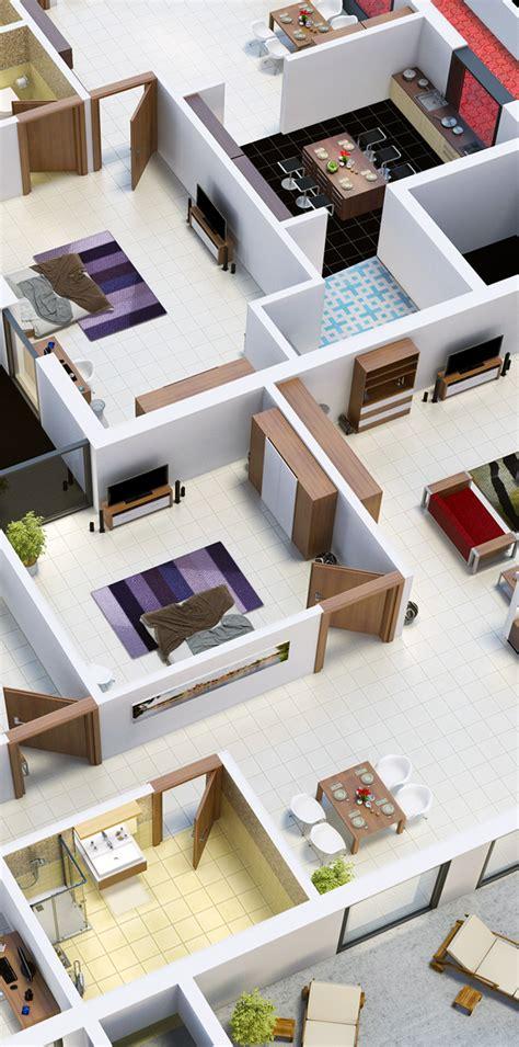 isometric floor plan isometric floor plan on behance