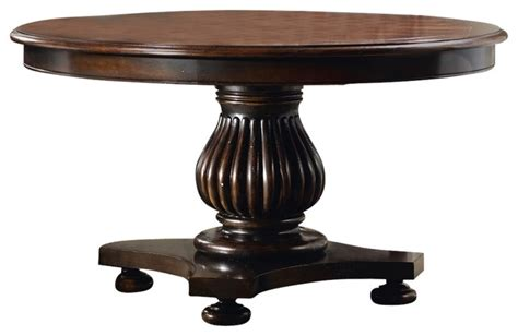 eastridge 54 quot pedestal dining table with 1 20 quot leaf