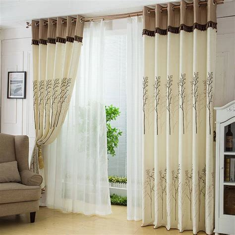 style of curtain designs awesome living room curtain designs