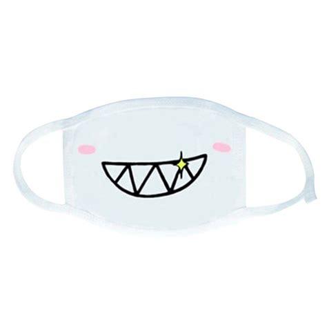 Masker Kawaii trenton unisex exo antidust black muffle mask exo mask kpop mask health