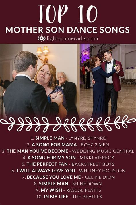 Best 25  Mother son dance songs ideas on Pinterest
