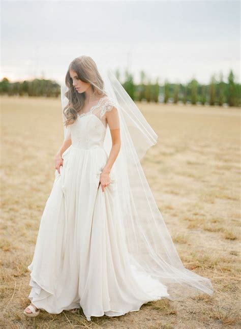 Wedding Hairstyles With Floor Length Veil by Veils Bridal Accessories Shoes I Do Au