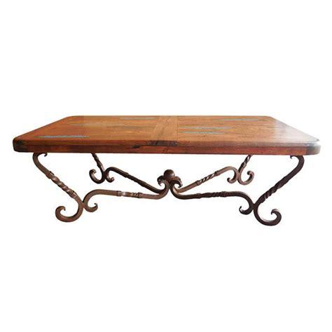 Western Furniture Iron Twist Coffee Table Lone Star Twist Coffee Table
