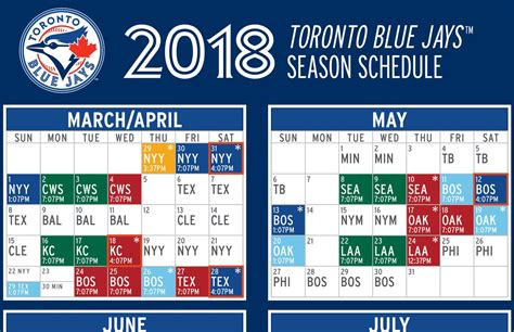 printable blue jays tickets the 2018 blue jays schedule is out here are the