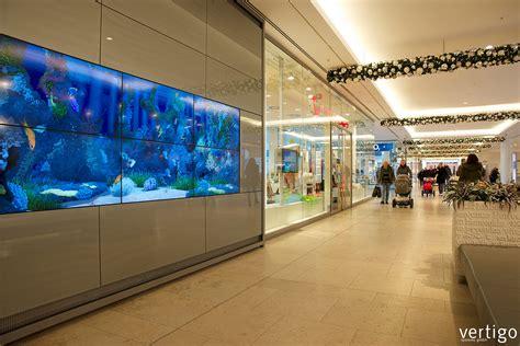 Aquarium In Wand by Living Aquarium Lebensechtes Virtuelles Aquarium