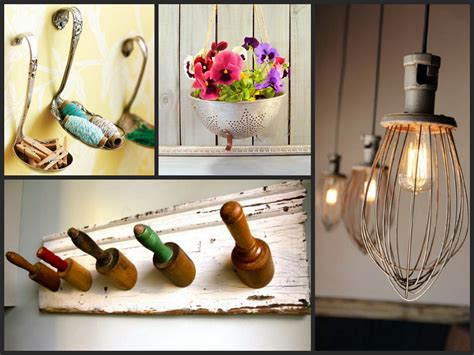 how to make home decor items best ideas to reuse old kitchen items recycled utensil