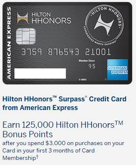Hilton Gift Card Deal - are increased offers on the amex hilton cards coming 100k no annual fee 125k surpass