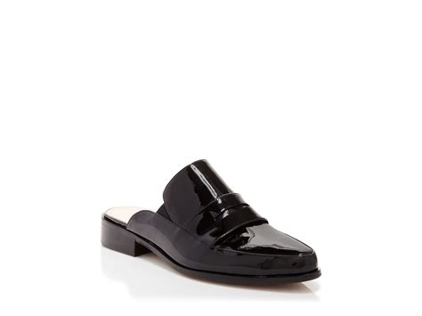 mule loafers lyst connection flat slide mule loafers louis